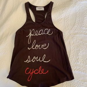 SoulCycle charcoal tank, XS